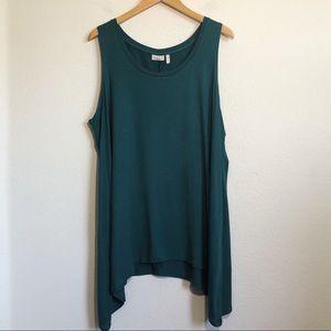 LOGO Layers by Lori Goldstein Tunic Shirt Size 2X